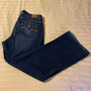 Levi's Curvy Boot Cut jeans 14S